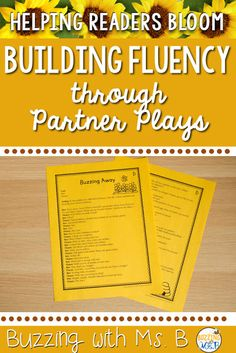 Tips for Building Reading Fluency Through Partner Plays