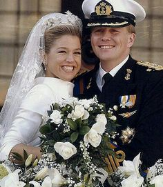 Prince Willem-Alexander and Princess Maxima of Orange.