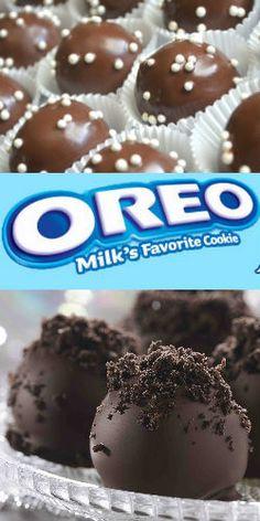 Learn How to Make #Oreo Cookie #Balls! #recipe #bake #chocolate