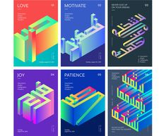 Geometric Posters on Behance Typography Poster Design, Typography Inspiration, Graphic Design Posters, Poster Designs, Plakat Design, Poster Art, Geometric Poster, Isometric Design, Arabic Design