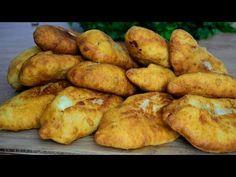 Reţetă de Pateuri cu carne fară drojdie - YouTube Pastry And Bakery, Pizza, Potatoes, Vegetables, Videos, Youtube, Food, Potato, Essen