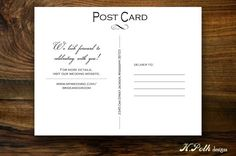 VIva Las Vegas  Save the Date Postcard by KPolkDesigns on Etsy, $0.90
