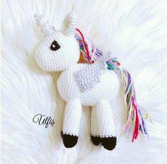 Amigurumi örgü oyuncak pony modeli yapılışı anlatımlı