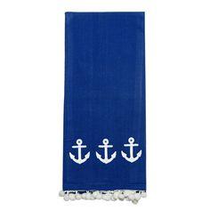 Anchors Away Hand Towel (Set of 2)