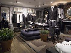 The Canadian lifestyle brand Club Monaco has opened its third London menswear branch, on Henrietta Street