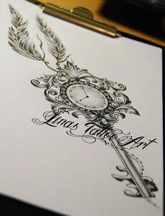 ... Schlüssel tattoo- designs,