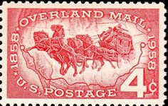 mail coach of stamps - R.a.s.b.c.