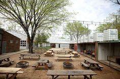 Dallas: patio bars near work