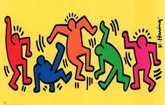 Image result for keith haring sculpture