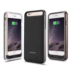 Iphone 6 Battery Case, [Apple Mfi Certified] 3100Mah External Protective Iphone 6 Extended Charger Cases With Two Frames**150% Extra Battery Life**, 2015 Amazon Top Rated Cases #Wireless