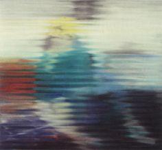 1967 Gerhard Richter - Frau auf Sofa (Woman on a Sofa) Oil on canvas
