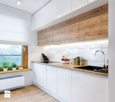 If you are thinking of renovating your kitchen decor you have come to the right place. We know the struggle of refurnishing a kitchen, specially if the available space is confined. Kitchen Room Design, Modern Kitchen Design, Home Decor Kitchen, Interior Design Kitchen, Kitchen Furniture, New Kitchen, Home Kitchens, Modern Kitchen Cabinets, Kitchen Remodel