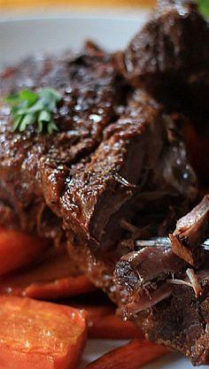 Balsamic Braised Beef Short Ribs