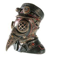 Steam Doctor 15.5cm 小物入れ(スチームドクター、ペストマスクボックス)ネメシス・ナウ/C2422G6