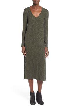 One Clothing Ribbed Midi Dress