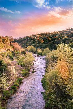 #sunset #forest #bridge #greece #Αρκαδικος_ ποταμος #κυπαρισσία #κοινοτητα_τριπυλης