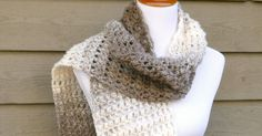 The Tea Leaves Scarf is elegant and easy to work up. Rows of double crochet and puff stitches give it beautiful texture and neutral yarn goes with just about everything too! Need a little help? ...