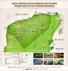 mapa de cozumel  Mapas Yucatn  Pinterest  Mapas Yucatan y Tulum