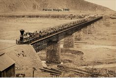 Imágenes de Chile del 1900: Pirque, Maipo, Paine Pablo Neruda, Cities, Latin America, Train Station, Old Pictures, Railroad Tracks, World, Photography, Santiago