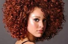 auburn hair color on black women - Google Search