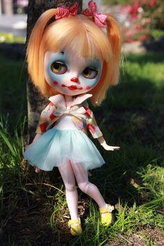RESERVED FOR KARIN 2nd Blythe doll Pipa by BigEyesBlythe on Etsy