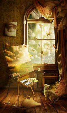 Inšpirácia je ako motýľ, ako rýchlo prišla tak aj odíde. Ak ju nezachytíš hneď je preč.