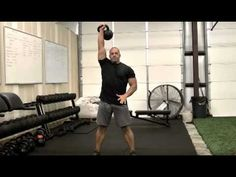 Kettlebell Clean and Press tutorial Created by Brian Hazel