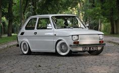 Fiat 126 #fiat Fiat 126, Alfa Romeo, Automobile, Fiat Cars, Audi A8, Steyr, City Car, Small Cars, Custom Cars