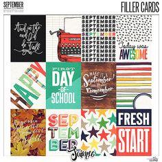 Storyteller 2016 September - Pocket Filler Cards