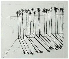 Wayne Thiebaud Palms, 1965 vjeranski