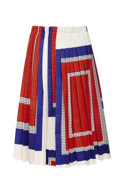 Pleated A-Line Skirt by Suno Now Available on Moda Operandi