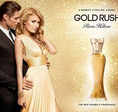 Paris Hilton has launched her 20th fragrance. The new perfume is called Gold Rush.
