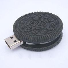 100% Real Black Chocolate biscuits Oreo modèle plastique 4 GB 8 GB 16 GB 32 GB 2.0 usb pen mémoire de lecteur flash bâton dur(China (Mainland))