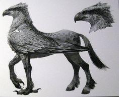 Monster Gallery: Harry Potter and the Prisoner of Azkaban Prisoner Of Azkaban, Fantastic Beasts And Where, Harry Potter Art, Mythological Creatures, Creature Design, Hogwarts, Fantasy Art, Concept Art, Griffins