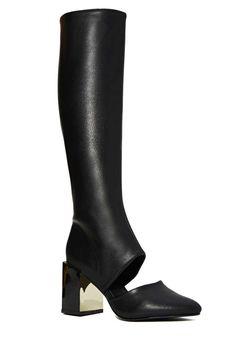 Amali Tall Black Boots