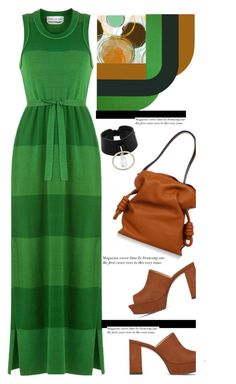 """Stunning in vivid shades of Grass Green'"" by dianefantasy ❤ liked on Polyvore featuring Sonia Rykiel, Vince Camuto, Loewe, Absidem, polyvorecommunity and polyvoreeditorial"