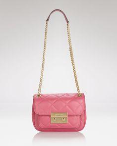 MICHAEL Michael Kors Shoulder Bag - Quilted Mini   Bloomingdales