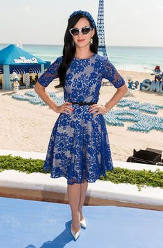Katy Perry lace dress