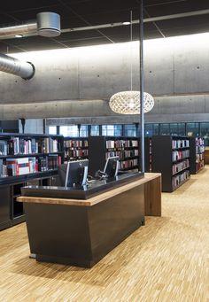 Hamar Public Library, designed by Metropolis arkitektur & design. Liquor Cabinet, Public, Storage, Interior, Projects, Furniture, Design, Home Decor, Purse Storage