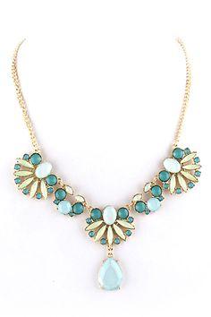 #ROMWE | ROMWE Cut-out Flower Shaped Pendant Necklace, The Latest Street Fashion