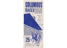 1959 Columbus Nebraska Horse Racing Programs, Vintage 1950s Race Schedule, Collectible, Souvenir History, County Fair, Park by vintagebarrel on Etsy