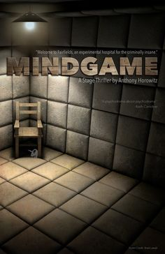 Another mock poster for one of my all time favorite stage plays - 'Mindgame'