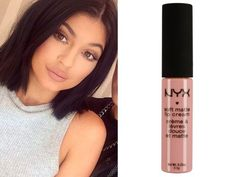 Copy Kylie Jenner& matte nude pout with NYX& Soft Matte Lip Cream Skin Makeup, Beauty Makeup, Hair Beauty, Dupe Makeup, Drugstore Beauty, Beauty Secrets, Beauty Hacks, Beauty Products, Look Kylie Jenner