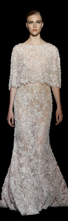 Elie Saab Haute Couture / Fall - Winter 2014 - 2015 ♥