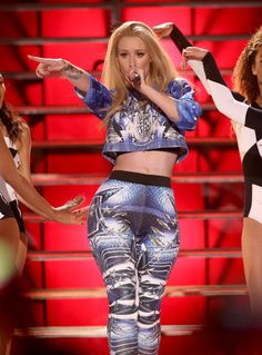 Iggy Azalea,In this Oct. 8, 2014 file photo, Iggy Azalea performs at the Vevo Certified SuperFanFest Live Concert in Santa Monica