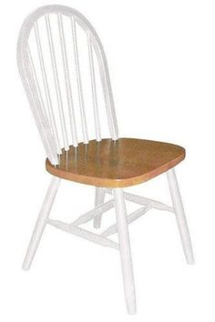 DRDIMES Windsor Chairs Writing Arm Chairs Three Back Writing