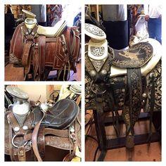 Monturas en reparación!  sillasparamontar  sillascharras  caballos  charros   jineteo  monturascharras  monturastexanas  monturasexoticas  espuelas   suaderos ... b7891b514186a