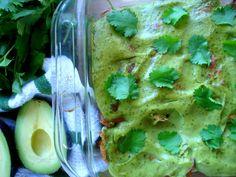 Paleo Pork Avocado Cream Enchiladas / paleOMG