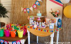 FaraPartyDesign-FiestaTeenBeachMovie (9) Teen Beach, Movie Party, Fiesta Party, Taking Pictures, Birthday, Google, Design, Home Decor, Fiestas