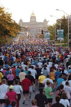 Des Moines Marathon - 10/20/2013